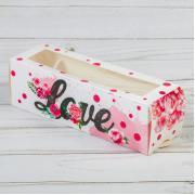 """Коробка для макарон """"Love"""""""