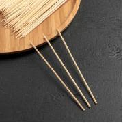 Набор деревянных шампуров 15 см