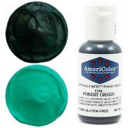 109 Краситель пищевой гелевый AMERICOLOR 21г FOREST GREEN 109