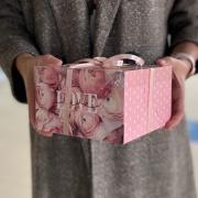 Коробка для капкейка LOVE, 16 × 16 × 10 см