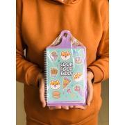 """Кулинарная книга на доске """"Cook book woof"""""""