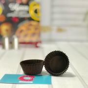 Тарталетки для конфет коричневые 26 шт
