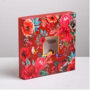 """Коробка для конфет """"Цветочная"""""""