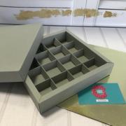 Коробка для конфет на 16 штук НЕРЕИДА