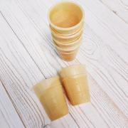 Набор вафельных стаканчиков,10 шт
