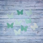 Вафельные бабочки, микс 2 10 шт