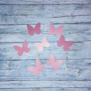 Вафельные бабочки, микс 4, 10 шт