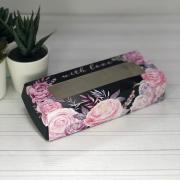 Коробка складная With Love, 17 × 7 × 4 см