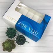 """Коробка для эклеров с вкладышами - 5 шт """" For you"""", 25,2 х 15 х 7 см"""
