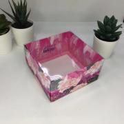 Коробка для кондитерских изделий с PVC крышкой «Волшебство вокруг» 12 х 6 х 11,5 см