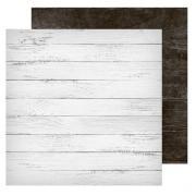 Фотофон двусторонний «Доски белые‒доски черные», 45 × 45 см