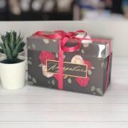 Коробка для капкейка «Поздравляю», 16 × 8 × 10 см