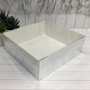 Коробка 200*200*70 с пластиковой крышкой