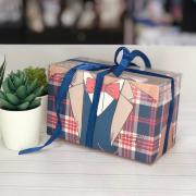Коробка для капкейка «Настоящему мужчине», 16 × 8 × 10 см