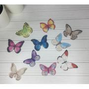 Вафельные бабочки ( набор) 10шт