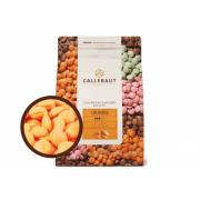 Шоколад оранжевый со вкусом апельсина,CALLEBAUT