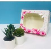 Коробочка для кондитерских изделий «Для самой прекрасной» 17 × 20 × 6 см